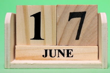 17th June  on Wooden