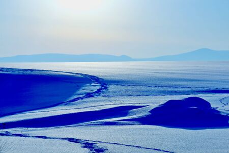 Snow field 写真素材