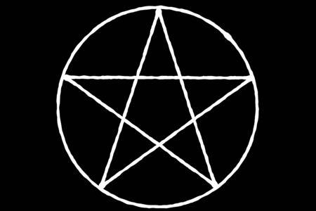 five-pointed star Standard-Bild