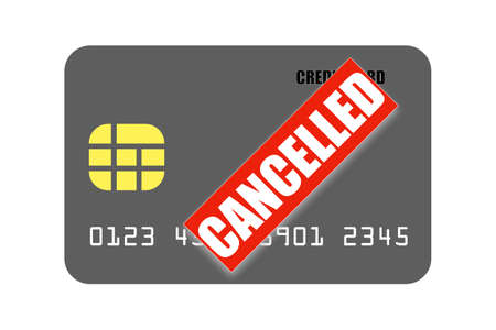 Credit CREDIT CARD Stock Photo