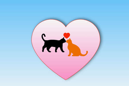 The Cat and the Heart Cat and Heart