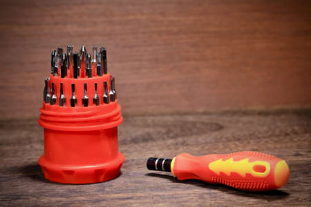 Precision screwdriver set Precision screendriver set Stock Photo