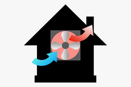 House Ventilation Fan House visitation fan