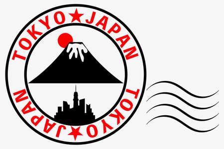 Tokyo ★ JAPAN Stickers TOKYO★JAPAN stamp