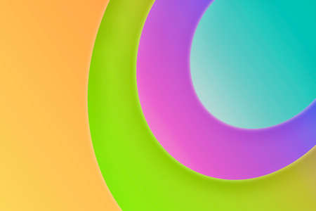 Slow rotating colorful background Slowly rotating colorful background Banque d'images