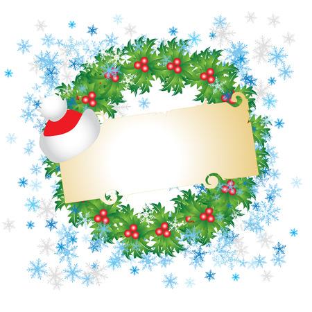 Carte de Noël Vecteurs