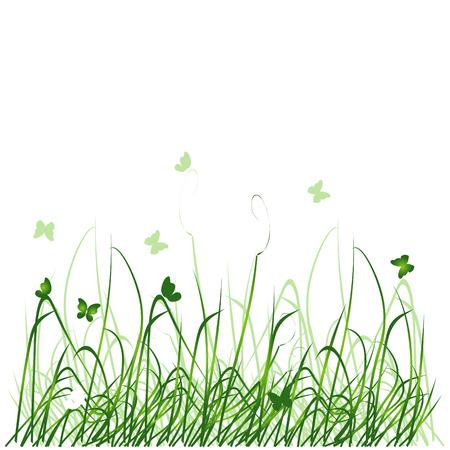 Grass silhouette Stock Vector - 2531223