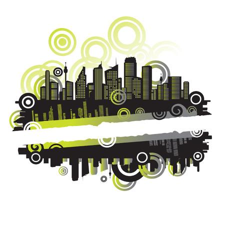 row of houses: Paisaje urbano, el marco urbano, con lugar para tu texto