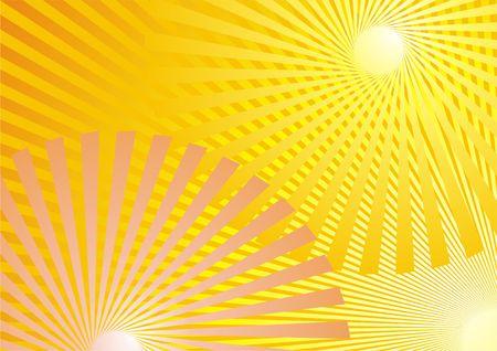 Summer Background, yellow rays photo
