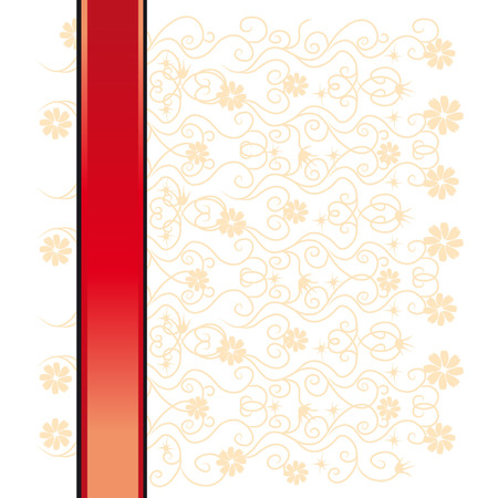 Abstract floral background, lace Stock Vector - 2643303