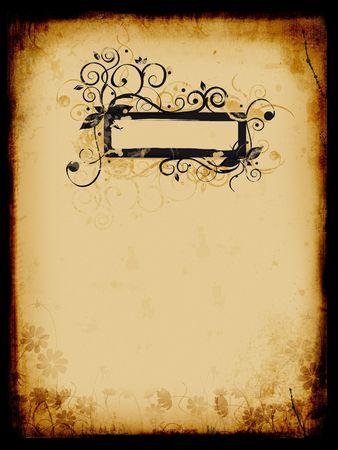 Grunge background, old paper, pattern photo