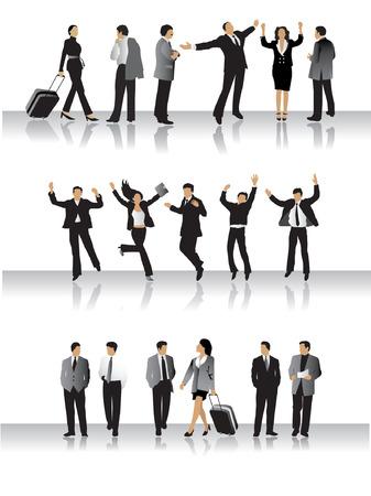 Sammlung von Business-Völker