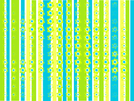 rounding: Abstract summer background Illustration