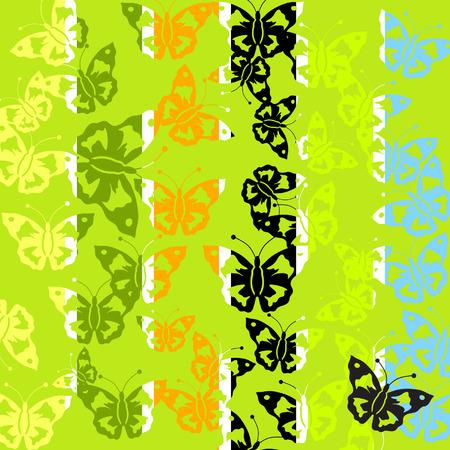 batterfly: Abstract batterfly pattern Illustration