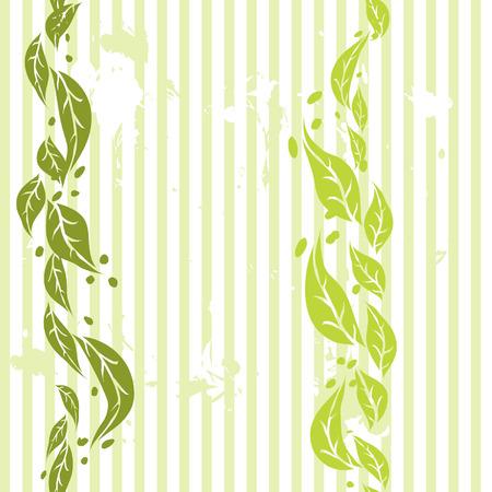 Foliage wallpaper, seamless Vector