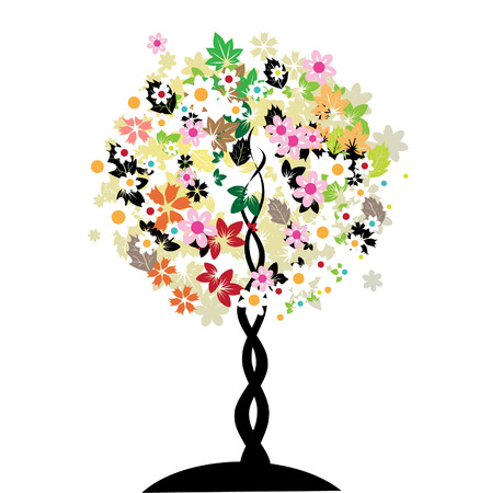 Floral tree Stock Vector - 3041902