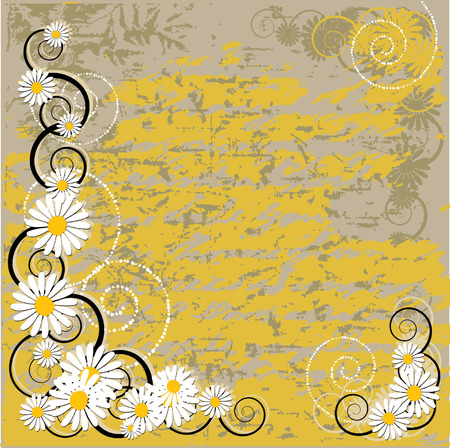 Old paper grunge, abstract pattern Vector