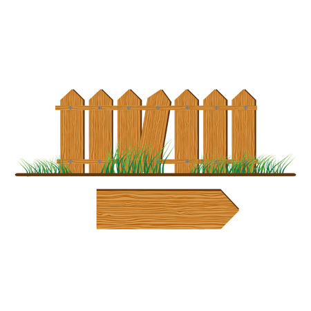 Wooden fence Stock Vector - 3093043