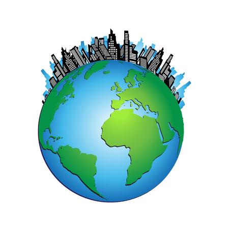 Urban world Vector