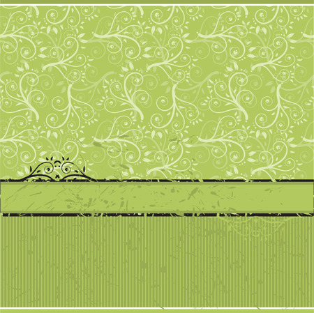 Vintage wallpaper, old style Vector