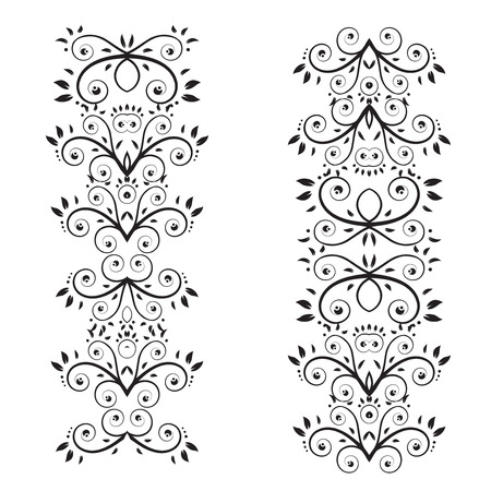 Floral ornament Stock Vector - 3349112