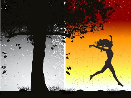 be happy: Be happy Illustration