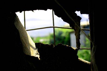 Window in prison Stock Photo - 3434600