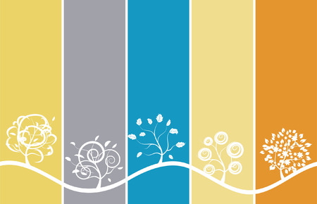reflection of life: Seasons background