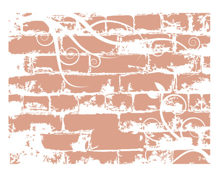 stone work: Pared de ladrillo, grunge antecedentes