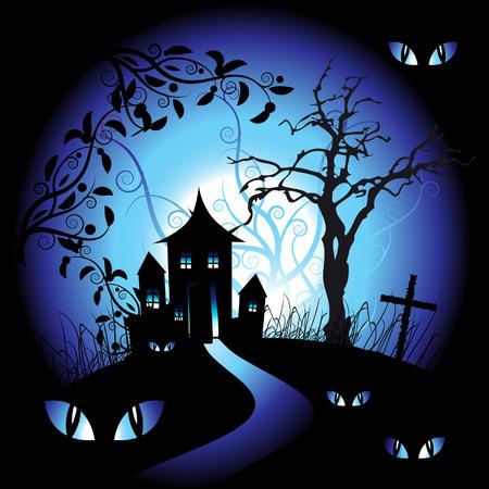 dark eyes: Halloween night