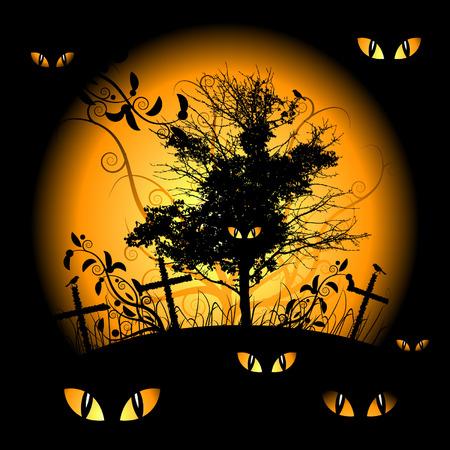 Halloween night Stock Vector - 3581412