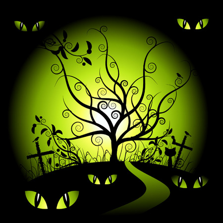 Halloween night Stock Vector - 3581384