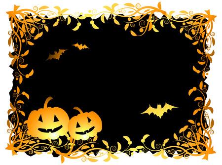 Halloween night background, vector illustration Stock Vector - 3609102
