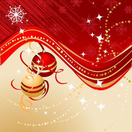 Christmas background for your design Stock Vector - 3820370