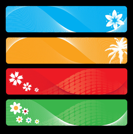 Season banner for your design Vector