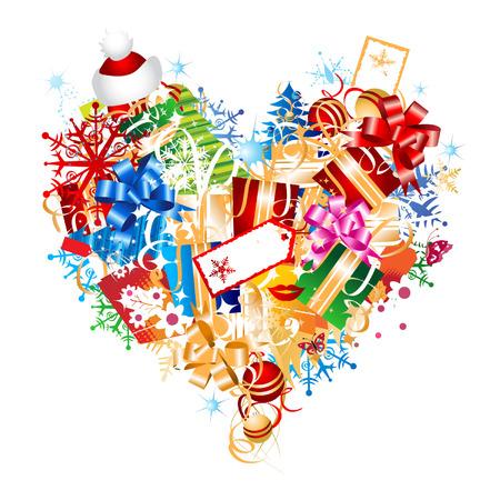 Christmas gift Vektorové ilustrace
