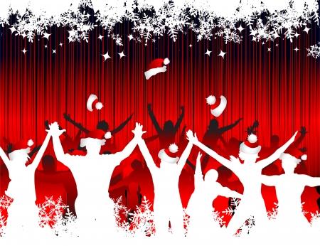 popular music concert: Natale yor fondo per la progettazione Vettoriali