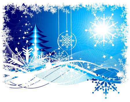 Christmas background for your design Vector