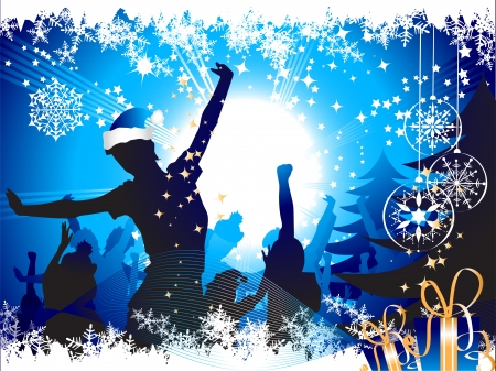 entertainments: Christmas party background