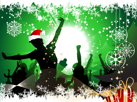 christmas party background: Christmas party background