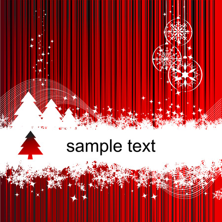 blizzards: Christmas background with place for your text