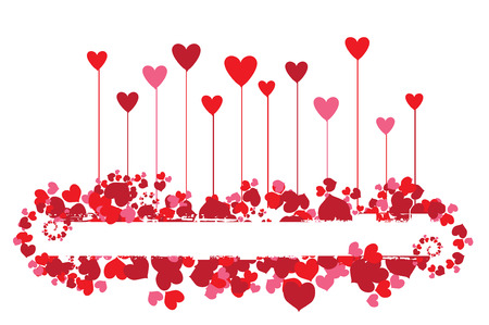 Valentine background for your design