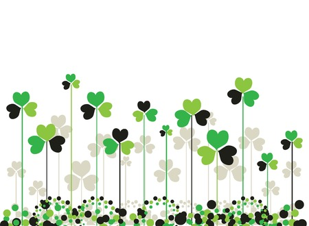Patrick saint day background Illustration