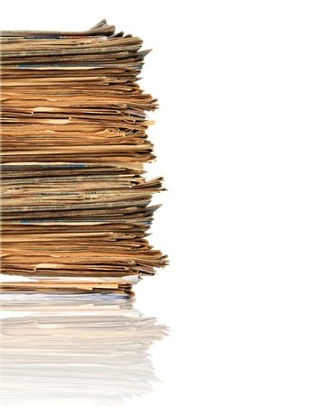 Heap of papers Stock Photo - 4412913