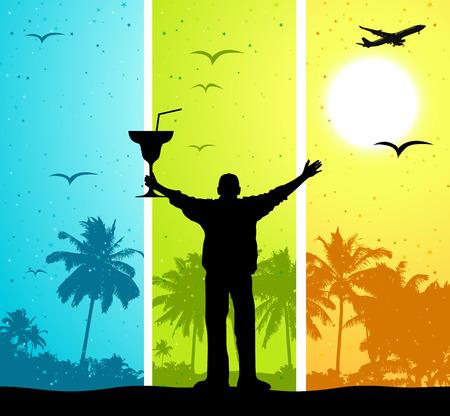 Summer vacations Stock Vector - 4562340