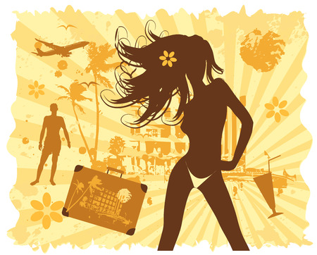 Summer vacations Stock Vector - 4837452