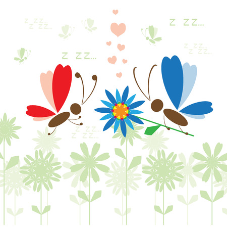 Summer background for your design Vector