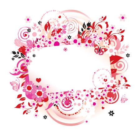 Summer dreams, greeting card Stock Vector - 4970659
