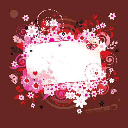 Summer dreams, greeting card Stock Vector - 4970664