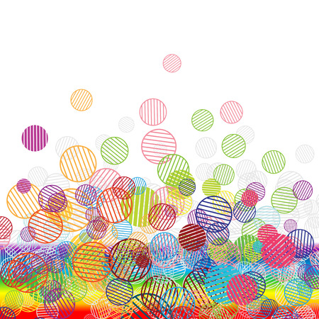Abstract funny background for your design Vector